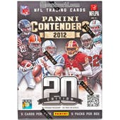 2012 Panini Contenders Football 5-Pack Box (1 Auto Per Box!)