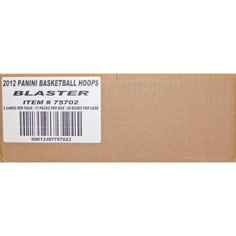 2012/13 Panini Hoops Basketball 11-Pack 20-Box Case