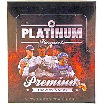 2012 Onyx Platinum Prospects Baseball Hobby Box