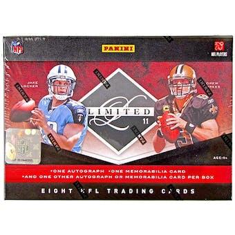 2011 Panini Limited Football Hobby Box