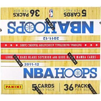 2011/12 Panini NBA Hoops Basketball Retail 36-Pack Box