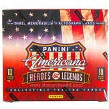 2012 Panini Americana Heroes & Legends Hobby Box - USA Women Soccer Autos !!!