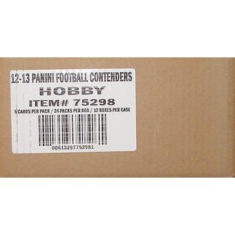 2012 Panini Contenders Football Hobby 12-Box Case