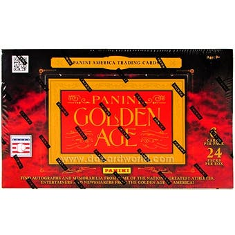 2012 Panini Golden Age Baseball Hobby Box