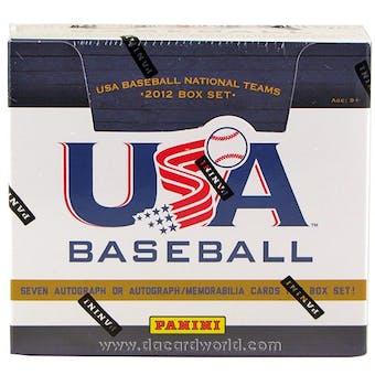 2012 Panini USA Baseball Hobby Box (Set)