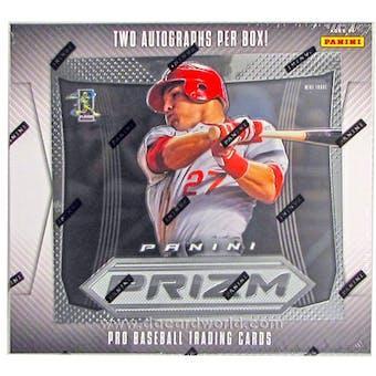 2012 Panini Prizm Baseball Hobby Box