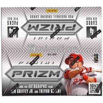 2012 Panini Prizm Baseball Retail 24-Pack Box (Three Green Prizm Parallels PLUS Six Inserts Per Box)!!