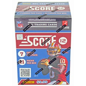 2012 Score Football 11-Pack Box - WILSON & LUCK ROOKIES!
