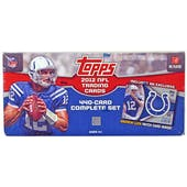 2012 Topps Football Factory Set Andrew Luck Rookie Patch!