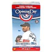 2012 Topps Opening Day Baseball 11-Pack Box
