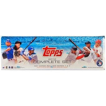 2012 Topps Factory Set Baseball