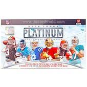 2012 Topps Platinum Football Hobby Box (Reed Buy)