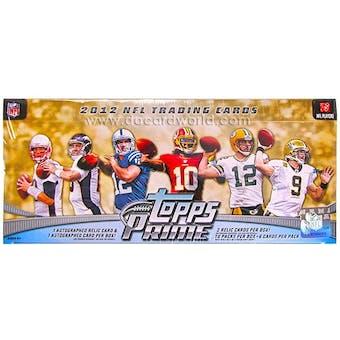 2012 Topps Prime Football Hobby Box