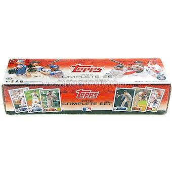2012 Topps Factory Set Baseball Hobby (Box)