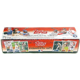 2012 Topps Factory Set Baseball Hobby (Box)
