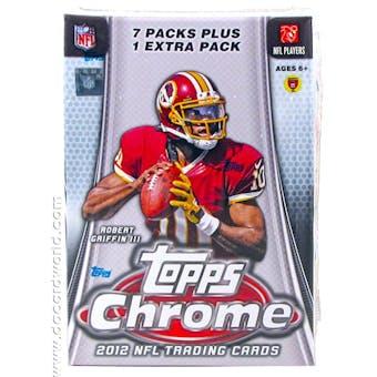 2012 Topps Chrome Football 8-Pack Box