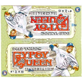 2012 Topps Gypsy Queen Baseball Retail 24-Pack Box