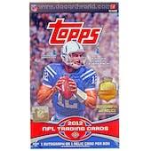 2012 Topps Football Hobby Box