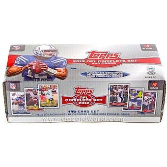 2012 Topps Hobby Factory Set Football (Box)