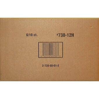 2012 Topps Football Jumbo 6-Box Case (Reed Buy)
