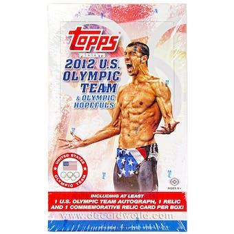 2012 Topps U.S. Olympic Team & Hopefuls Hobby Box