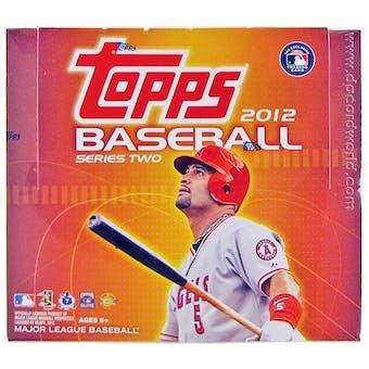 2012 Topps Series 2 Baseball Jumbo Box