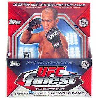 2012 Topps UFC Finest Hobby Box