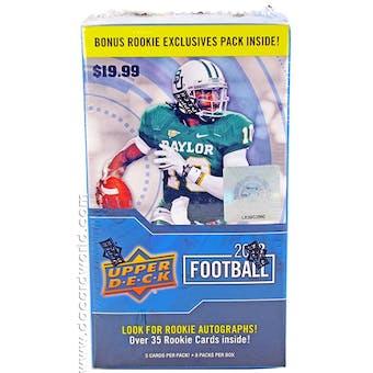 2012 Upper Deck Football 8-Pack Box - RUSSELL WILSON ROOKIE!