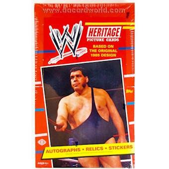 2012 Topps WWE Heritage Wrestling Hobby Box