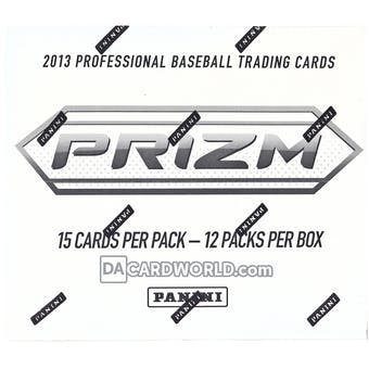 2013 Panini Prizm Baseball SUPER Value Rack Pack Box (Contains Blue Pulsar Prizm Packs)