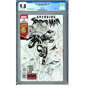Avenging Spider-Man #9 (2nd Printing) CGC 9.8 (W) *1300467010*