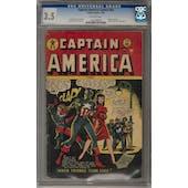 Captain America Comics #65 CGC 3.5 (OW) *1301368002*