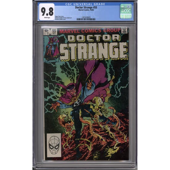 Doctor Strange #55 CGC 9.8 (W) *1301629003*