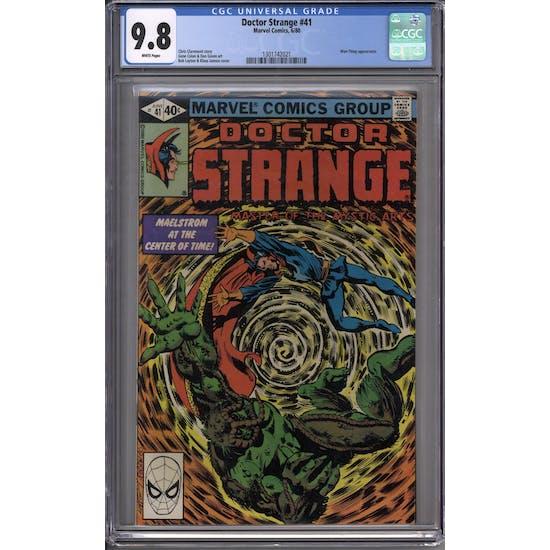 Doctor Strange #41 CGC 9.8 (W) *1301742021*