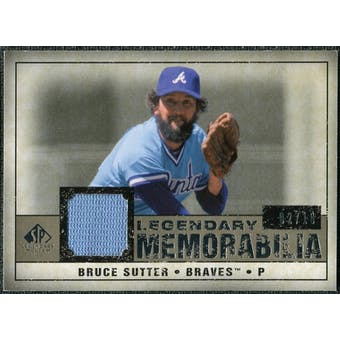 2008 Upper Deck SP Legendary Cuts Legendary Memorabilia Taupe #BS Bruce Sutter /10