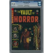 Vault Of Horror #38 CGC 7.5 (OW-W) *1304566002*