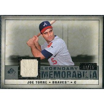 2008 Upper Deck SP Legendary Cuts Legendary Memorabilia Gray #JT Joe Torre /15