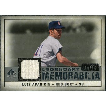 2008 Upper Deck SP Legendary Cuts Legendary Memorabilia Gray #LA Luis Aparicio /15
