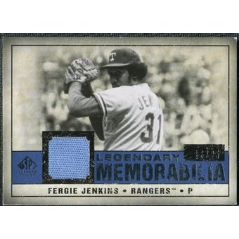 2008 Upper Deck SP Legendary Cuts Legendary Memorabilia Dark Blue #FJ Fergie Jenkins /25