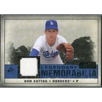 2008 Upper Deck SP Legendary Cuts Legendary Memorabilia Dark Blue #DS Don Sutton /25