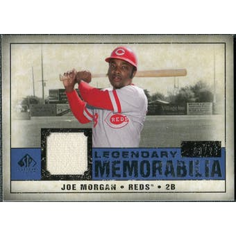 2008 Upper Deck SP Legendary Cuts Legendary Memorabilia Dark Blue #JM Joe Morgan /25