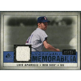 2008 Upper Deck SP Legendary Cuts Legendary Memorabilia Dark Blue #LA Luis Aparicio /25