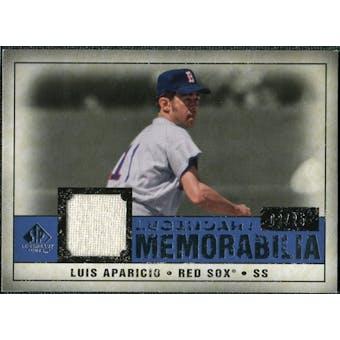 2008 Upper Deck SP Legendary Cuts Legendary Memorabilia Dark Blue #LA Luis Aparicio /25