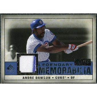 2008 Upper Deck SP Legendary Cuts Legendary Memorabilia Dark Blue #AD Andre Dawson /25