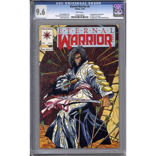 Eternal Warrior #4 CGC 9.6 (W) *1309530003*