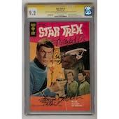 Star Trek #1 CGC 9.2 Shatner Takei Koenig Nichols Signature Series (OW-W) *1312969001*