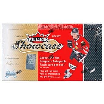 2013-14 Upper Deck Fleer Showcase Hockey Hobby Box