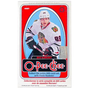 2013-14 Upper Deck O-Pee-Chee Hockey Hobby Box