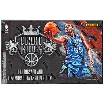 2013/14 Panini Court Kings Basketball Hobby Box