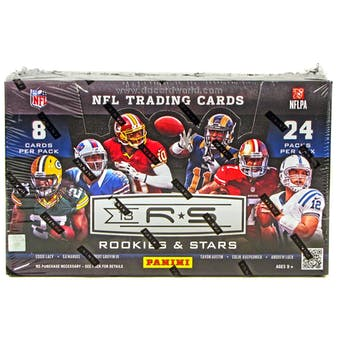 2013 Panini Rookies & Stars Football Hobby Box
